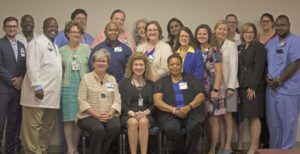 Senior Leadership Celebrates Magnet Re-Accreditation Team