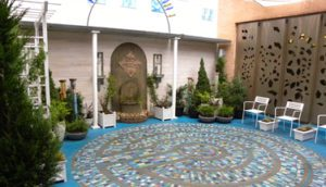 Coworker Memorial Meditation Garden at the Infirmary