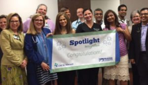 Spot Recognition on Infirmary Hospitalists