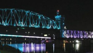 Teal Light Night for Ovarian Cancer