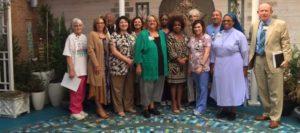 Infirmary Dedicates Coworker Memorial Meditation Garden