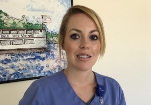 Kimberley Donaldson Named Nurse Manager at Hot Springs