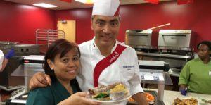 Chef Frédéric Mercier Wished the Infirmary Bon Appétit