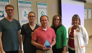 Jason Cash Recognized as Service Hero at Infirmary
