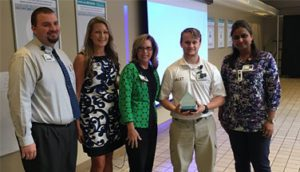 Justin Crabtree Recognized as Service Hero at Infirmary