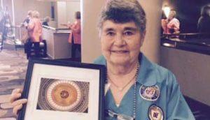 Hot Springs Volunteer Peg Kuhnly Honored