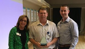 Tim Bunch Recognized as Service Hero at Infirmary