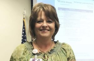 Susan Rima Recognized as Service Hero at Hot Springs