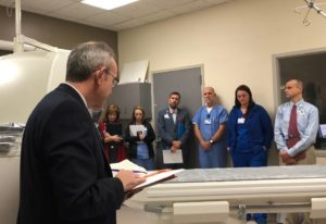Blessing of the New CT Scanner in Hot Springs