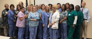 Outpatient Services Receives a Team Service Hero Award in Hot Springs