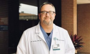 Jeff Sheridan Named Nurse Manager of Perioperative Services at Infirmary & North