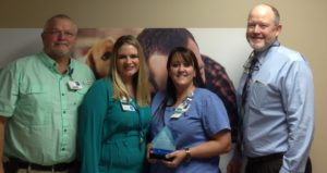 Laura Grumbles Named Service Hero at Morrilton