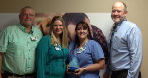 Laura Grumbles Named Service Hero at Morrilton