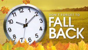 Look Forward To Extra Sleep and Turn Your Clock Back Nov. 5
