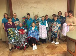 Hot Springs Volunteers Give Gift of Warmth