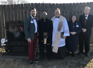 Calvary Cemetery Baby Area Rededicated