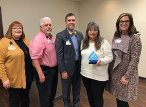 Cathi Gray Named Service Hero at Hot Springs