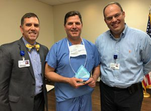 Dr. Chris Young Named Service Hero at Hot Springs