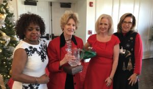 Auxiliary Recognizes Members During Christmas Luncheon