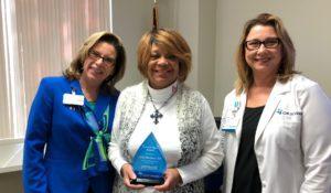 Freda Blueford Named Service Hero at North