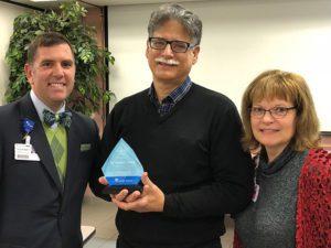 Dr. Joseph Cenac Named Service Hero in Hot Springs