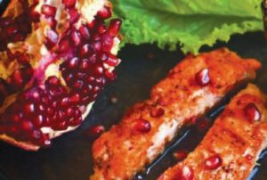 Learn How to Easily Make Grilled Salmon with Pomegranate Glaze