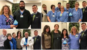 OR, ED, Lab and ICU Receive Team Service Award in Hot Springs
