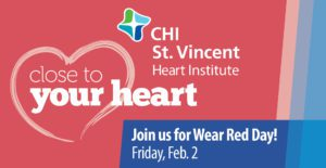 Wear Red Day: Friday, Feb. 2