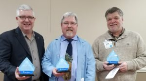Dr. Peter Post, Joseph Post and Bryan Simmons Recognized as Service Heroes