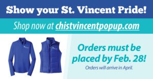 "Get Your CHI St. Vincent Apparel at New ""Pop-Up"" Website"
