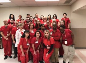 Teams Go Red for Heart Health Awareness