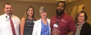 Dante Porter Named Service Hero at Infirmary
