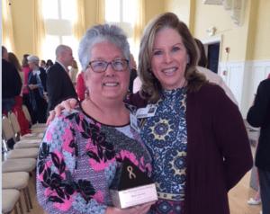Alesa Garner Honored with Hickingbotham Award for Service