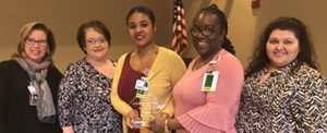 Patient Access Coworkers Named Service Heroes at Infirmary