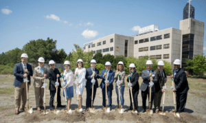 Leaders Break Ground on ANI's Education & Research Center