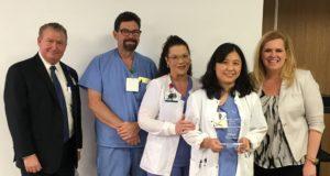 Chiung-fang Liang Named Service Hero at Infirmary