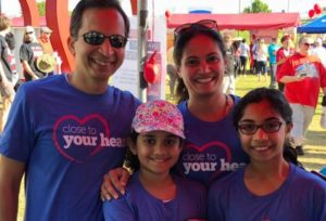 Heart Walk Participants Enjoy Great Spring Day