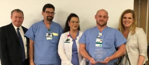 James Herndon Named Service Hero at Infirmary