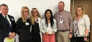 Kameron Lee Named Service Hero at Infirmary
