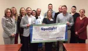 Policy Team Recognized with Spotlight Award