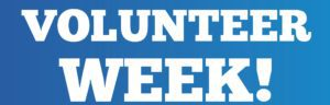 Celebrate National Volunteer Week April 15-21