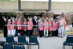 Morrilton Hosts Ribbon Cutting for New Front Entrance (Photo Gallery)