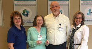 Linda McNutt Named Service Hero at Infirmary
