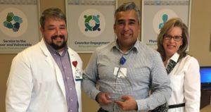 John Reyes Named Service Hero at the Infirmary