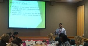 Dr. Viegas Speaks About Seasonal Allergies to QualChoice Employees