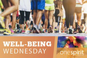 Monthly Well-being Wednesday Event Promotes Upcoming Walks/Runs