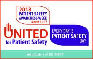 National Patient Safety Week June 24-30